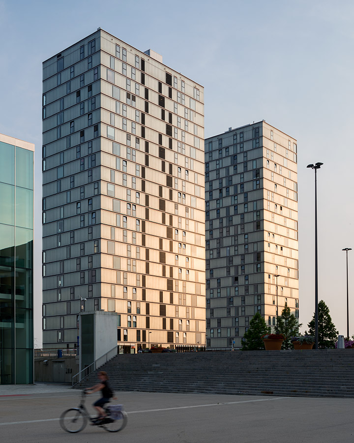2 Towers, Almere, Architekten Cie