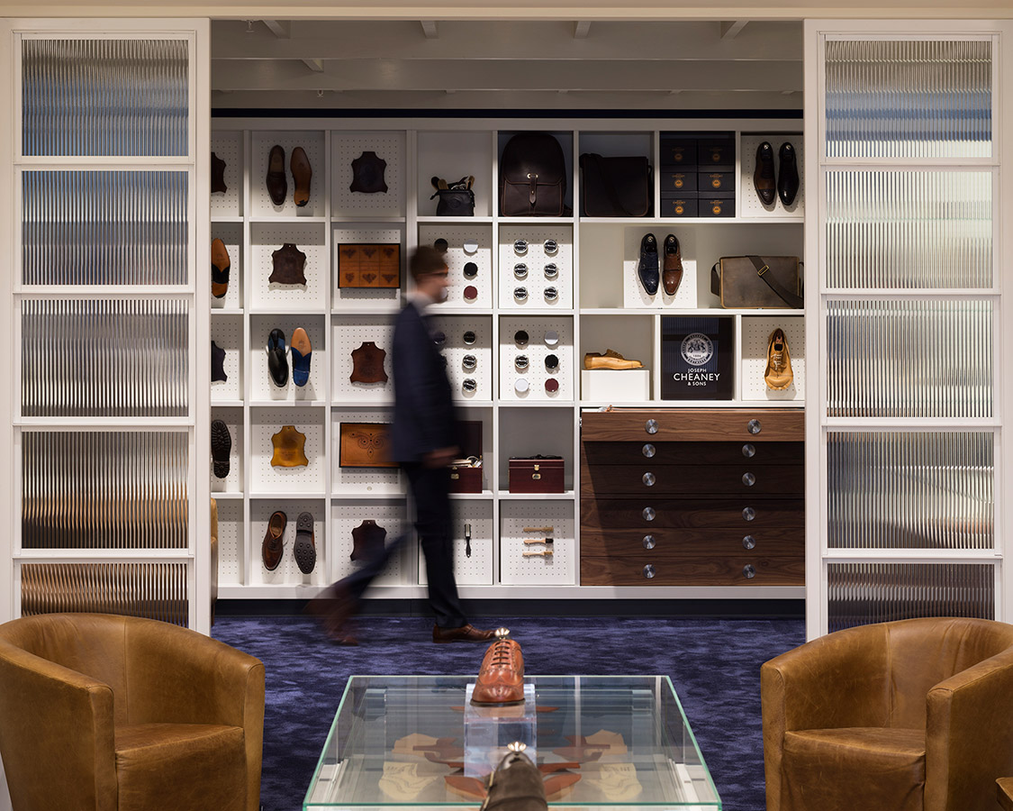 Joseph Cheany, Jermyn Street Flagship Store, Checkland Kindleysides