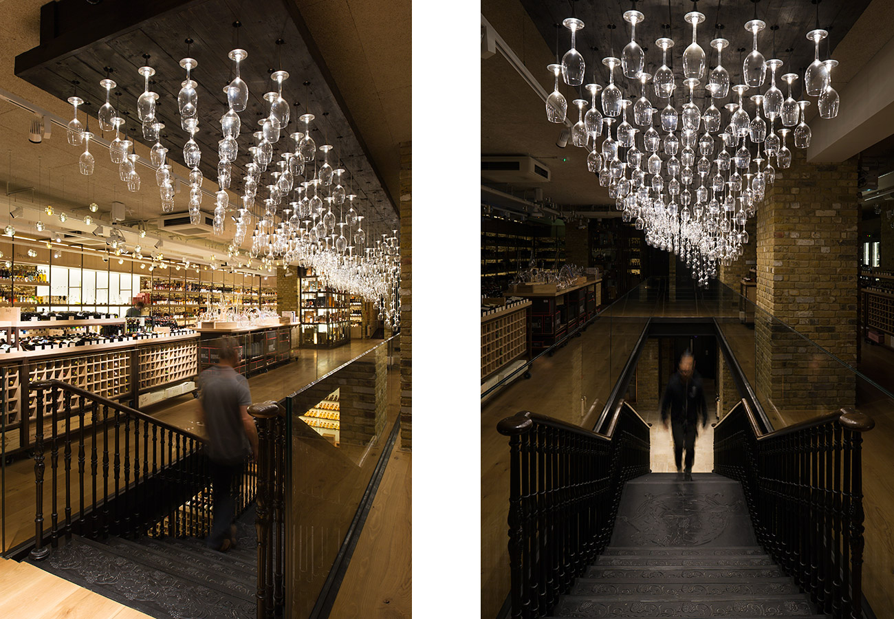 Hedonism Wines, London - Speirs+Major/Universal Design Studio