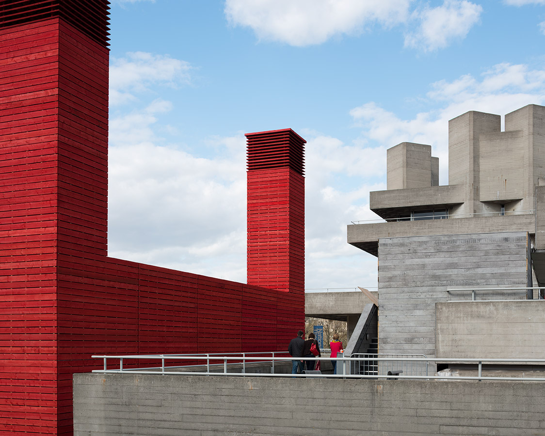 The Shed, National Theatre, London, Haworth Tompkins