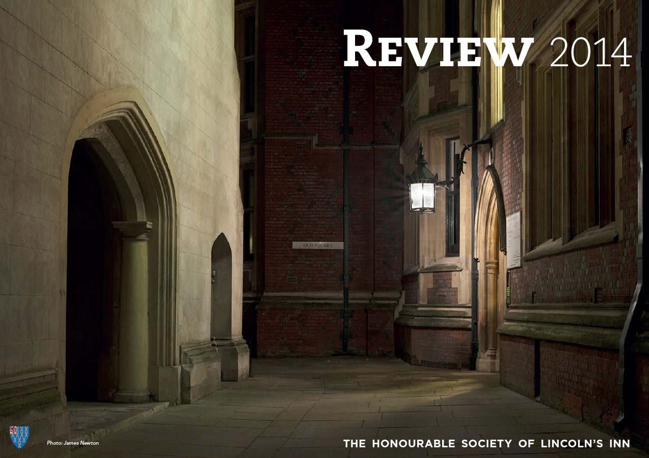 The Honourable Society of Lincoln's Inn, Annual Review 2014